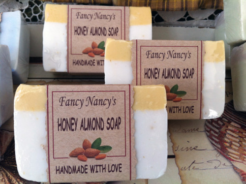 all-natural-honey-almond-soap-for-sale