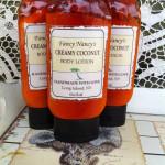 creamy coconut body lotion